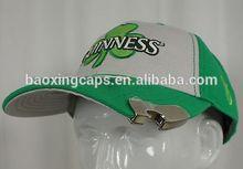 beer cap ball hat w/ bottle opener