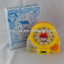 Discount newly design cartoon snail alarm clock toy