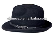 Wool felt hat for men cheap cowboy hats wide brim hat men