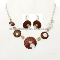 Coin Design Jewelry Set , American Diamond Jewellery
