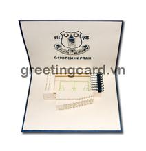 Erverton card handmade card 3D pop up card