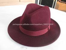 2014 100% wool felt fedora hat