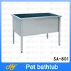 stainless steel dog bath product,dog bath tube,pet bath tub SA-801