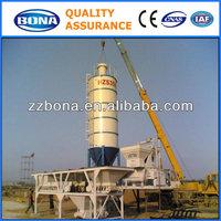 HZS35 small portable fixed asphalt concrete batching plant