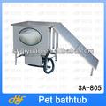 Funcional açoinoxidável pé fixo pet grooming banheira para cães e gatos sa-805