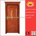 Modern barato de madeira portas do armário para quartos