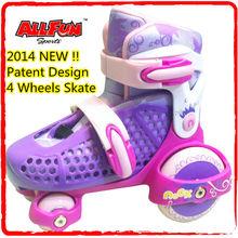 Flash roller skate for inline skates