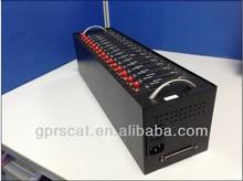 1/8/16/32/64 ports USB modem pool/GSM sms modem /gsm modem pool edge gprs modem driver