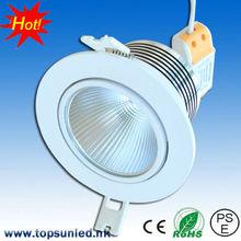 New design 10w 220v cob high quality led ceiling light