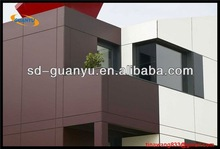 2013 PE Alucobond 4mm aluminum cladding panel composite sheet acp plastic indoor decorative made in Foshan