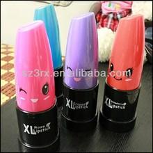 piggy bank for kids, lipstick piggy bank, large plastic lipstick piggy bank