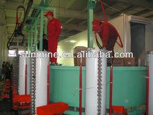 solar geyser foaming equipment