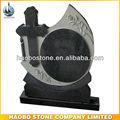 professionale granito nero celtic lapide cimitero croce