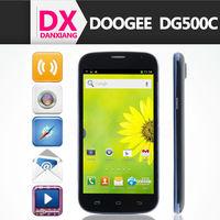 "Doogee Discovery DG500 DG500c phone MTK6582 quad core 1gb ram 4gb rom 5"" IPS screen andriod4.2 13.0 MP 3G WIFI"