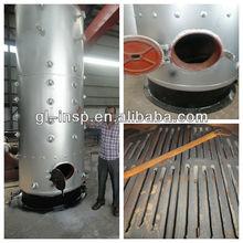 Vertical type wood/coal fired hot water boiler