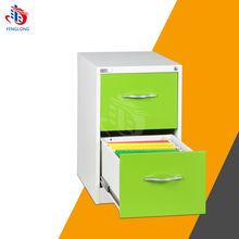 Elegant Luxury 2 drawer metal file cabinet