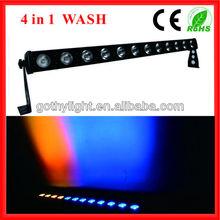 CE&RoHS 12x10w Led Flood Light Bar Stage Lights /Stage Lite Bar
