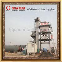 64t/h asphalt mixing plant qc series hot mixing type QC-800