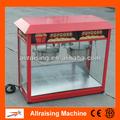 Automatic Electric Double Pot Popcorn Machine Industrial