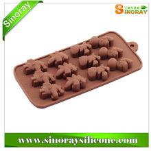 Lovely Animals Shape Silicone Chocolate mold