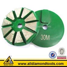 Metal bond diamond grinding plate wheel tools for concrete