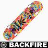 Backfire 2013 hot selling new design cruiser custom complete skateboards Professional Leading Manufacturer