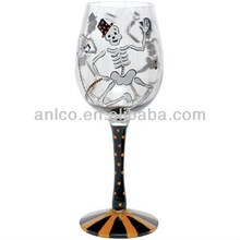 Halloween Party gift glass plastic candle holder cocktail wine cup