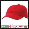 Plain 6-panel wholesale baseball cap hats