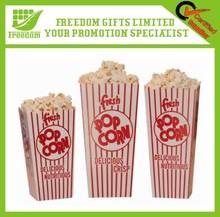 Logo Printed Plastic Popcorn Box