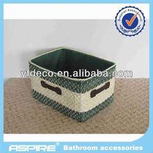 rattan/wicker home storage baskets