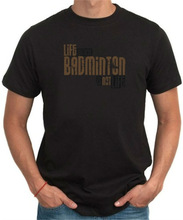 Life Without Badminton ... Is Not Life ! Mens Eco-friendly T-Shirt