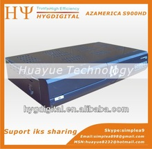 In stock original AZAMERICA S900 satellite receiver full HD 1080p support iks+dongle i-box