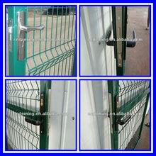 PE or PVC coated or Galvanized Iron Fence Gate