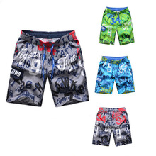 Domi sexy photos print insect style men's beach shorts and board men's shorts