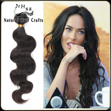 2014 New Arrival Double Weft Body Wave 5a Virgin Wholesale Body Wave Male Hair Extensions