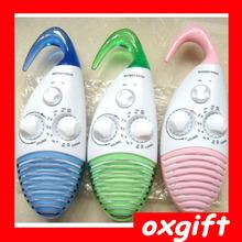 OXGIFT 2014 new product pothook waterproof shower radio