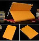wholesale stand flip silk pu case for ipad mini 2
