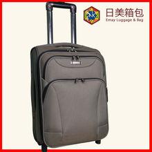 2014 New Model 2 Wheels Aluminum EVA Trolley Suitcase