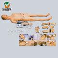 Advanced fonction complète mannequin de formation en soins infirmiers( avec la pression artérielle 380x54mm)