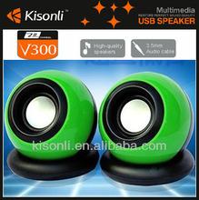 USB mini portable laptop mini speaker/Wired active speaker