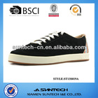Rubber sole leather upper cheap casual shoes for men