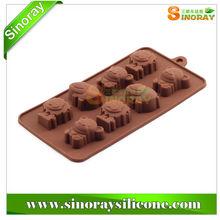 Lovely and Fashionalbe Animal Shape Silicone Chocolate mold