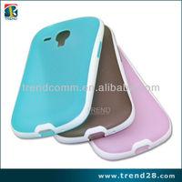 alibaba express two tone color tpu case for Samsung galaxy S3 mini i8190