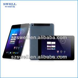 7.85inch quad core MTK8382 tablet 7.85inch hot sale bluetooth,gps tablet pc 3g sim card slot TP78M