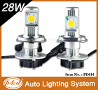 High quality 5000lumens lighting Brighter than hid headlights 9004 9007 H13 60W Hi/Low beam led headlights bulb h4