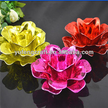 lotus flower candle holder,lotus flower candle holder wholesale,tealight candle holder flower shaped