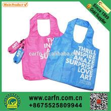 custom printing nylon foldable shopping bag