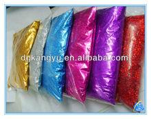 2014 new design wholesale lamp shades decoration glitter powder