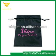 Fancy silk satin hair packing bag