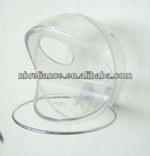 Wild Bird Window Feeder - Clear plastic - Attaches to Window w/ Suction Cups for Close-up Birdwatching...